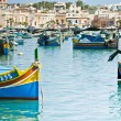 Fishing village of Marsaskala, Malta — Stock Photo #15898127
