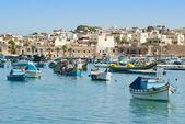 Fishing village of Marsaskala, Malta — Stock Photo