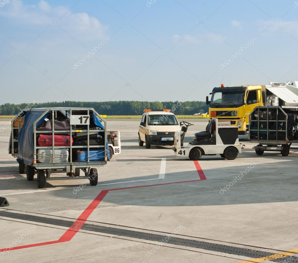 Airport and runway area — Stock Photo #15896777