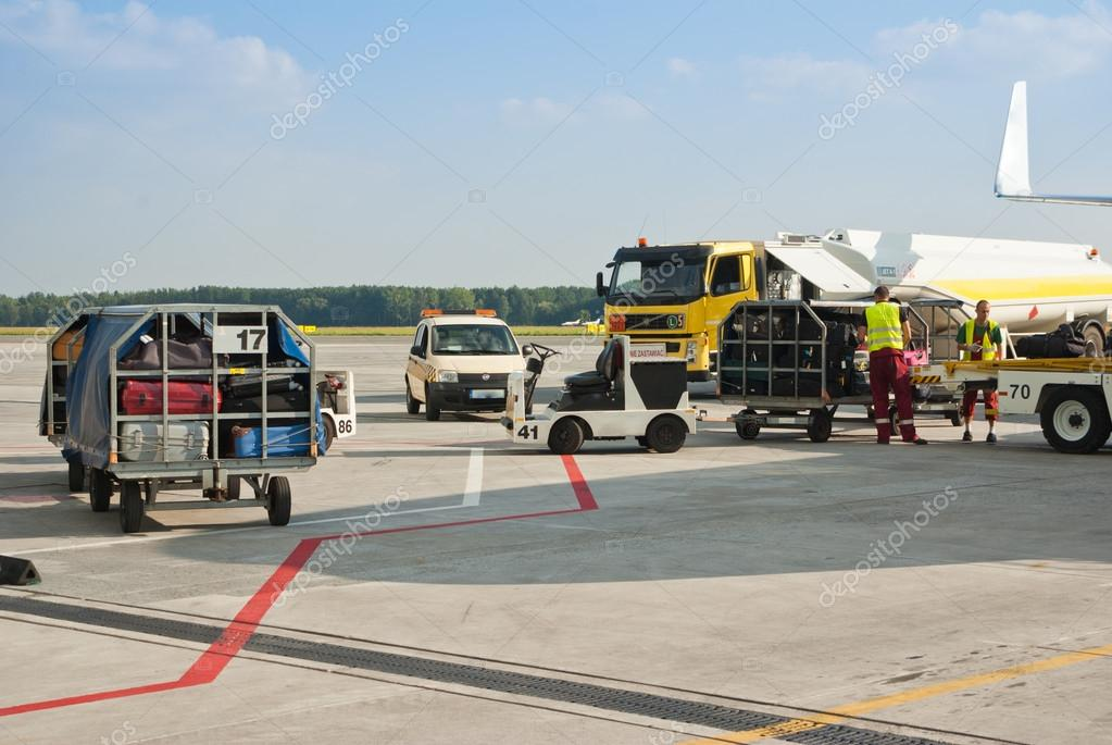 Airport and runway area  Stock Photo #15896957