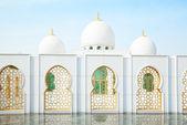 Mosquée sheikh zayed à abu dhabi, émirats arabes unis — Photo