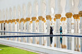 Sheikh Zayed Mosque in Abu Dhabi, United Arab Emirates — Stock Photo