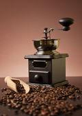 Luxury coffee grinder — Stock Photo
