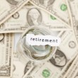 Stock Photo: Retirement and pension concept
