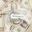 Foto Stock: Retirement and pension concept