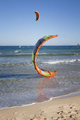 Kitesurfing — Stock Photo