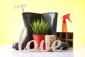 Love gardening — Stock Photo