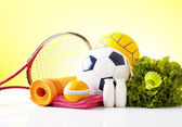 Recreation leisure sports equipment — Stock Photo