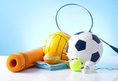 Sport equipment — Stock Photo