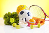 Equipamentos de esporte — Fotografia Stock