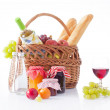 Picnic basket — Stock Photo #44379897