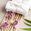 Spa and welness items, zen stones — Stock Photo #48943283
