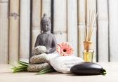 SPA and meditation background — Stock Photo