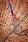 网球拍,运动器材 — 图库照片