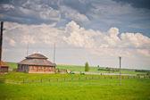 Farm in Belarus — Stock Photo