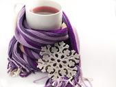 Horký ovocný čaj — Stock fotografie