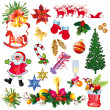Christmas set — Stock Vector #13291536