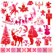 Set of Christmas elements — Stock Vector #13291539