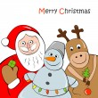 Christmas Greeting Card — Stock Vector #16259049