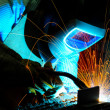 Welding sparks — Stock Photo #19548487