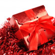 Red gift box — Stock Photo #19549465
