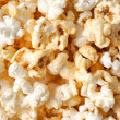 Stock Photo: Closeup popcorn