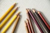 Unsharpened color pencils — Stock Photo