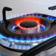 Stock Photo: Blue flames