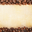 Roasted coffee beans — Stockfoto