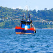 Stock Photo: Squid Fishing Boat