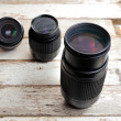 Zoom lens — Stock Photo