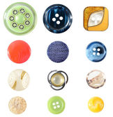 Buttons Collection — Stock Photo