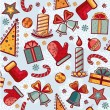 Christmas pattern — Stock Vector #33702637