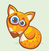 Cartoon fox. — Stock Vector