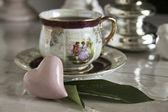 Tea break — Stock Photo