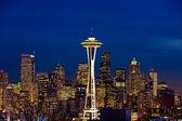 Space Needle In Seattle Washington — Stock Photo