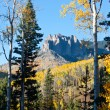 Rugged Mountains in Colorado in Fall — Stock Photo