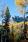 Rugged Mountains in Colorado in Fall — Stockfoto