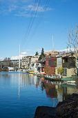 Seattle Houseboats — Stock Photo