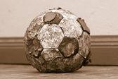 потертый мяч — Стоковое фото