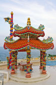 Chinese temple in Hua Hin , Thailand — Stock Photo