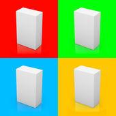 Leeres feld farbe hintergrund serie — Stockfoto