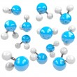 Group of Molecules — Stock Photo