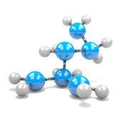 Molécula — Foto de Stock