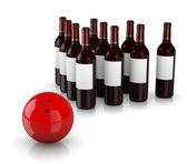 Strike Alcoholism — Stock Photo