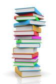 Pilha de livros — Foto Stock