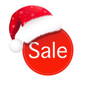 Burbuja del discurso de navidad — Vector de stock