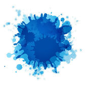 Blue Blob — Vector de stock
