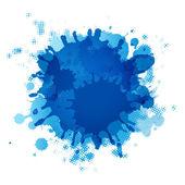 Blob azul — Vector de stock
