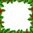 Royalty-Free Stock Vector Image: Border With Holly Berry